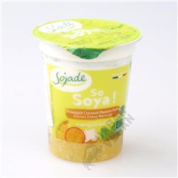 Deser jogurtowy ananas kokos marakuja 125g Sojade