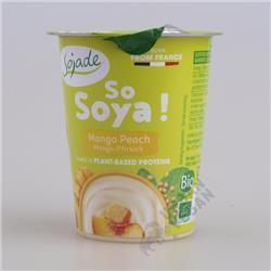 Jogurt sojowy mango-brzoskwinia 125g Sojade
