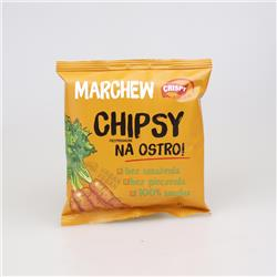 Chipsy marchew na ostro 18g Crispy Natural