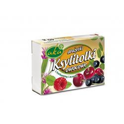 Ksylitolki drażetki owocowe bez cukru 40g AKA