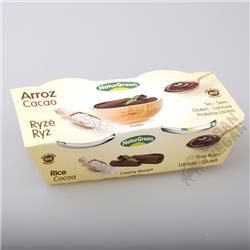 Deser ryżowy kakaowy 2x125g Bio Naturgreen