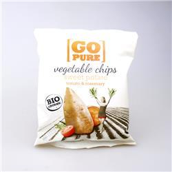 Chipsy z batatów 40g Go Pure