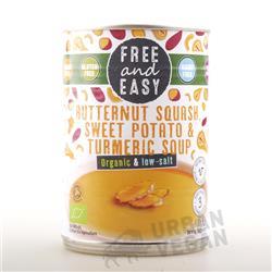 Zupa z dyni i słodkich ziemniaków 400g Free&Easy