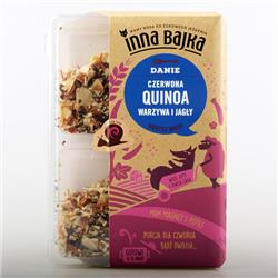 Danie czerwona quinoa i warzywa 250g Inna Bajka