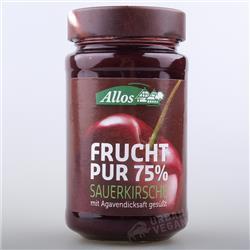 Konfitura wiśniowa 75% 250g Allos