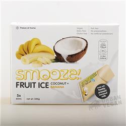 Lody do zamrożenia kokos- banan 5x65ml Smooze