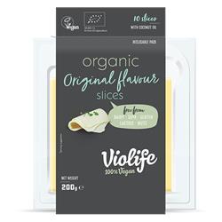 Ser wegański plastry BIO naturalny 200g Violife