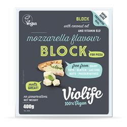 Ser wegan blok do pizzy mozzarella 400g Violife