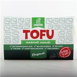 Tofu z czosnkiem niedźwiedzim 160g Lunter
