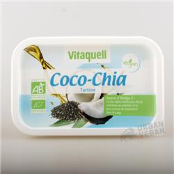 Margaryna kokosowa z chia BIO 250g Vitaquell