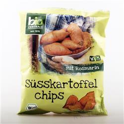 Chipsy batatowe z rozmarynem 75g Bio-Zentrale
