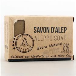 Mydło- peeling 8% nasiona czarnuszki 100g Aleppo