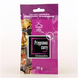 Przyprawa curry łagodna uniwersalna 20g HOA