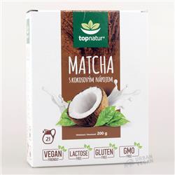 Napój kokosowy z matchą instant 200g Topnatur