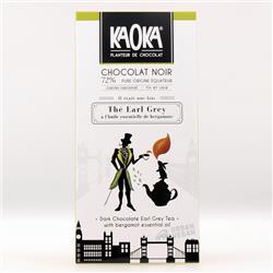 Czekolada 72% z herbatą Earl Grey 100g EKO Kaoka