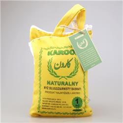 Ryż naturalny bezglut. Basmati 1 kg Karoon