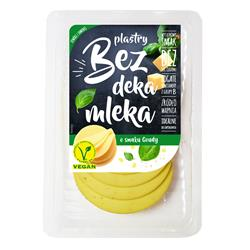 Ser wegański plastry smak Goudy 100g Bez DM