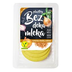 Ser wegański plastry cebulka 100g Bez DM