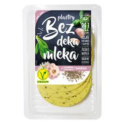 Ser wegański plastry czosnek nied kmin 100g Bez DM
