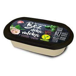 Ser wegański kremowy czosnek pieprz 150g Bez DM