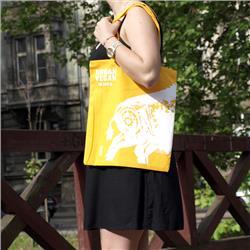 Ekotorba torba Urban Vegan - Żółta