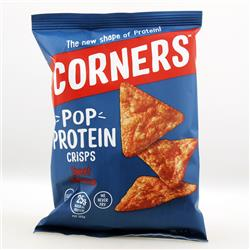 Chipsy proteinowe BBQ 28g Corners