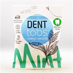Tabletki do czyszczenia zębów bez fluoru Dent Tabs