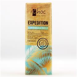 Czekolada biała kokosowa Caribbean Gold 50g Ichoc