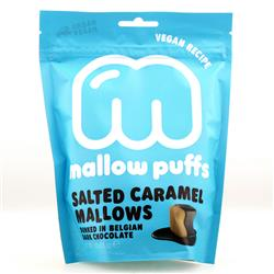 Puffs słony karmel w czekoladzie 100g Mallows