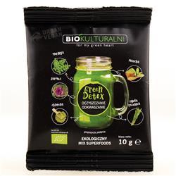 Mieszanka superfoods Green Detox 10g Biokultur