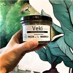 Pasta z fasoli a la makrela wędzona 180g Veki