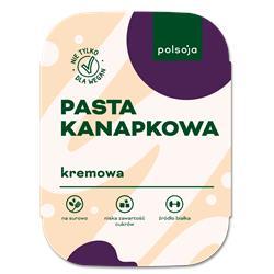 Pasta kanapkowa kremowa 125g Polsoja