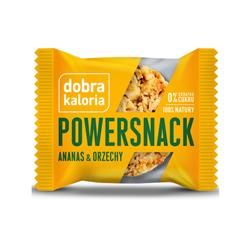 Powersnack ananas-orzech 30g Dobra kaloria