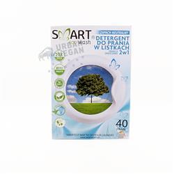 Biodegradowalne listki do prania 40 szt. Smart Eco