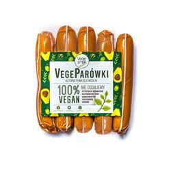 Vege parówki delikatesowe 250g Vege Smak