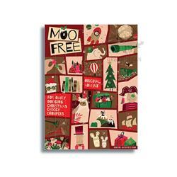 Kalendarz Adwentowy czekoladowy 70g Moo Free