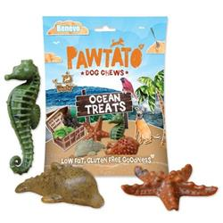 """Smakołyki dla psa """"Pawtato ocean treats"""" 140g"""