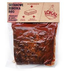 Żeberka BBQ, 350g Lokan Vegan bistro LVB