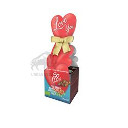 Serce zestaw czekoladek WALENTY 65g So free