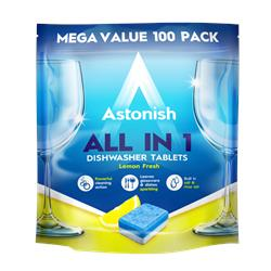 5w1 tabletki do zmywarki Astonish 100 szt.