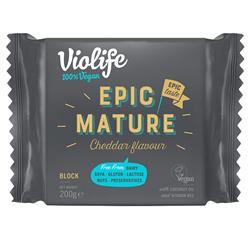Ser wegański blok Epic cheddar 200g Violife