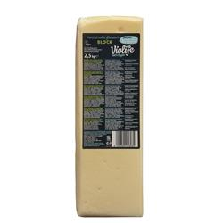 Ser wegan blok do pizzy mozzarella 2,5 kg Violife-8023