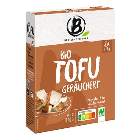 Tofu wędzone BIO 2x175g Berief-8071