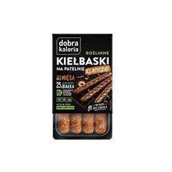 Kiełbaski roślinne Klasyczne 180g Dobra Kaloria-8106