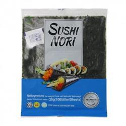 Wodorosty do sushi SUSHI NORI 26g Three Coconut Tr-8124