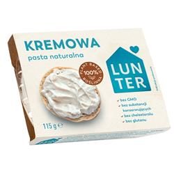 Pasta naturalna kremowa 115g Lunter