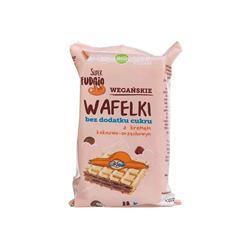 Wafelki kakaowo- orzechowe bez cukru 4x30g FUDGIO-8221