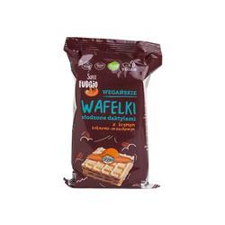 Wafelki kakao orzechy daktyle 4x30g FUDGIO