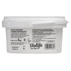 Ser wegański kremowy naturalny 3kg Violife