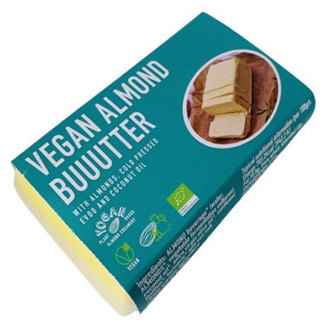 Masełko wegańskie migdałowe BIO 120g YOGAN-8249